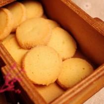 【香貝里手工餅乾】鑽石香草小圓餅