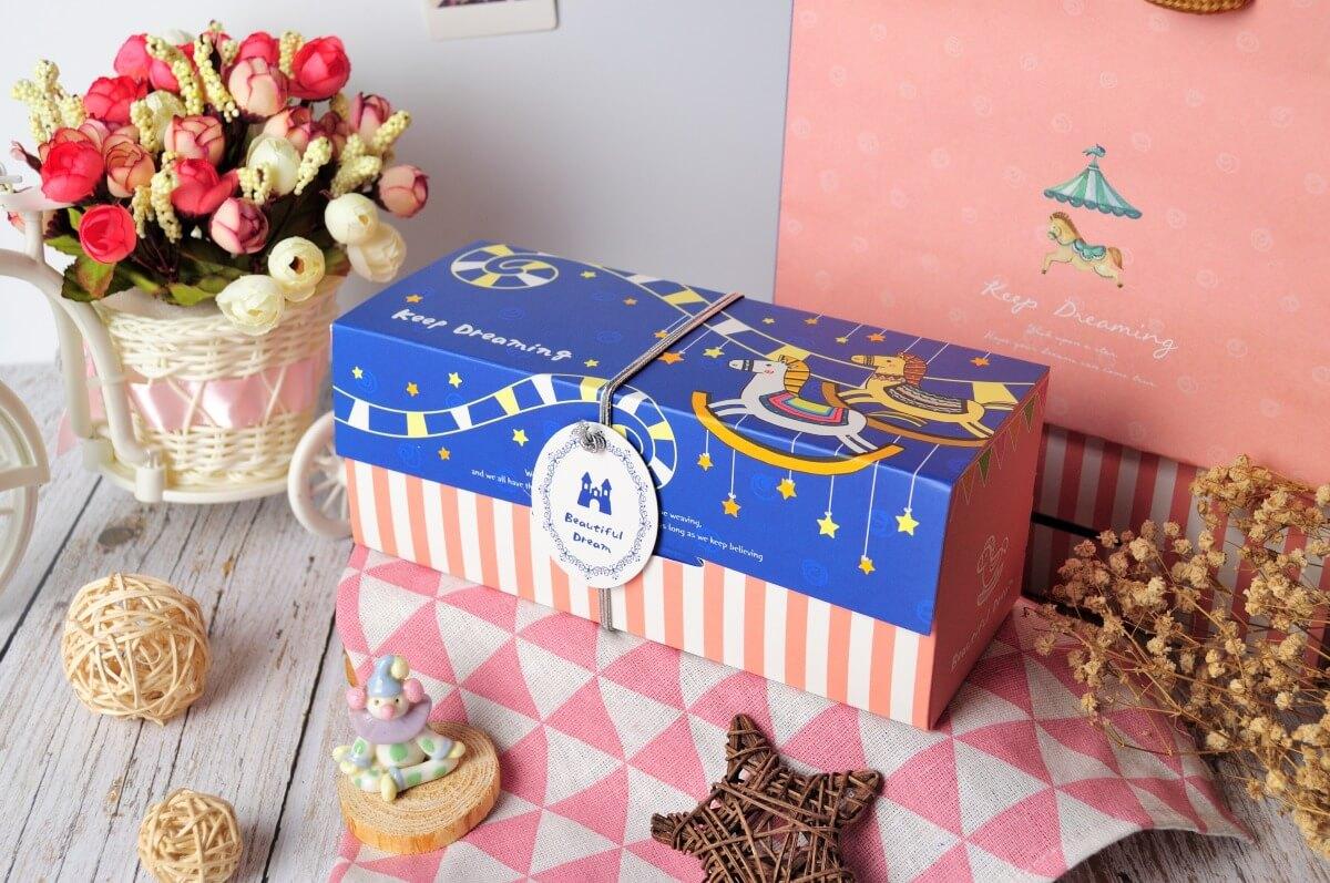 夢想木馬彌月禮盒