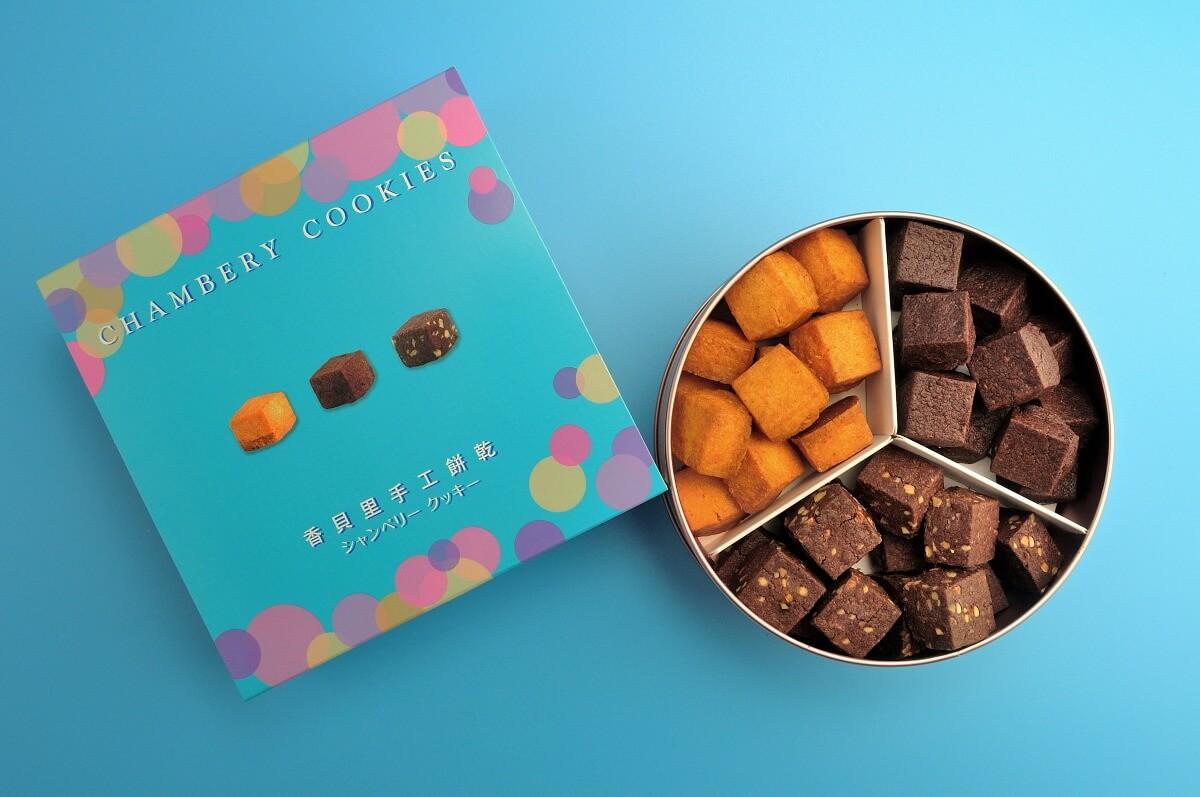 方塊酥 巧克力 鐵盒餅乾