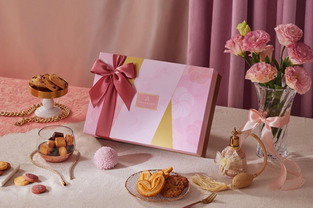 香貝里花頌喜餅禮盒