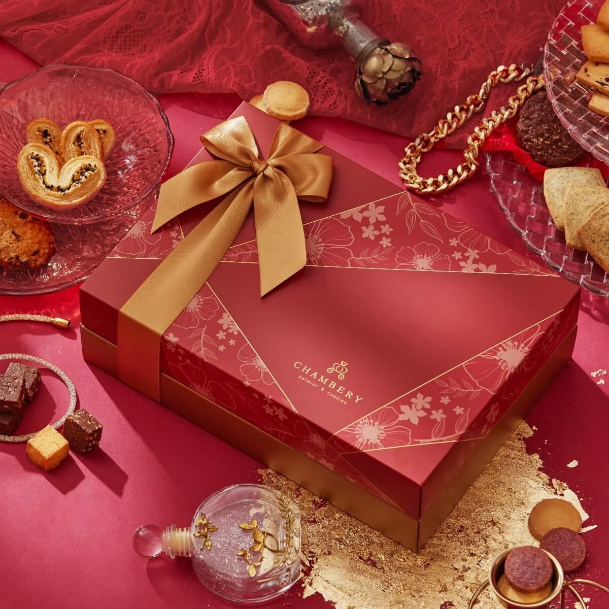 【香貝里】誓約禮盒/手工喜餅/伴手禮/附質感提袋/蝴蝶酥/手工餅乾/端午禮盒