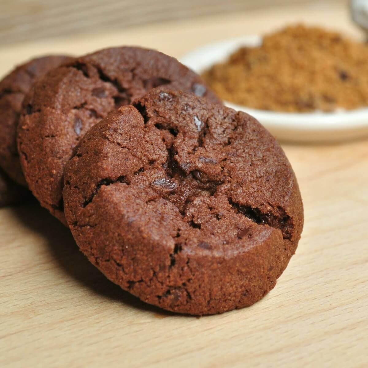 黑糖巧克力圓酥
