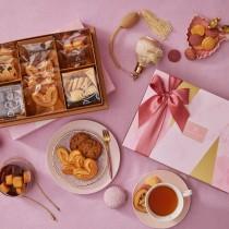【香貝里】花頌禮盒/手工喜餅/伴手禮/附質感提袋/蝴蝶酥/手工餅乾/端午禮盒