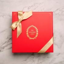 【香貝里】凡爾賽之戀(紅)禮盒 / 手工喜餅 / 伴手禮 / 附提袋 / 端午禮盒